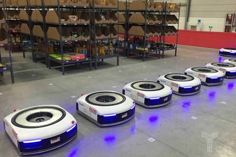 极智嘉,极智嘉,Geek+,仓储机器人,物流,仓储