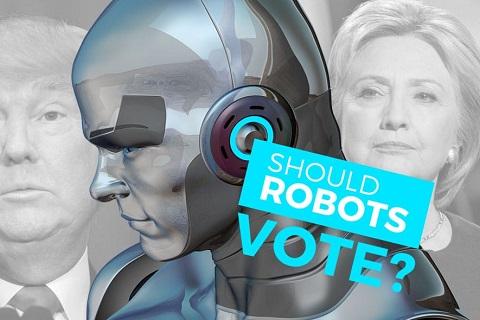 机器人投票,人工智能,机器人,投票权,奇点,道德标准,AI