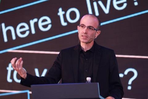 """独家专访《未来简史》作者赫拉利:机器很难有""""意识""""-薪媒体_O2O新商业媒体资讯平台"""