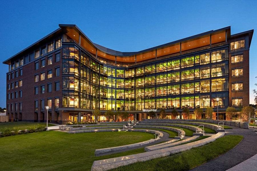 大楼,亚马逊,苹果,谷歌,特斯拉,雅虎