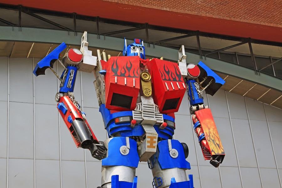 变形金刚,机器人,外骨骼技术,人工智能